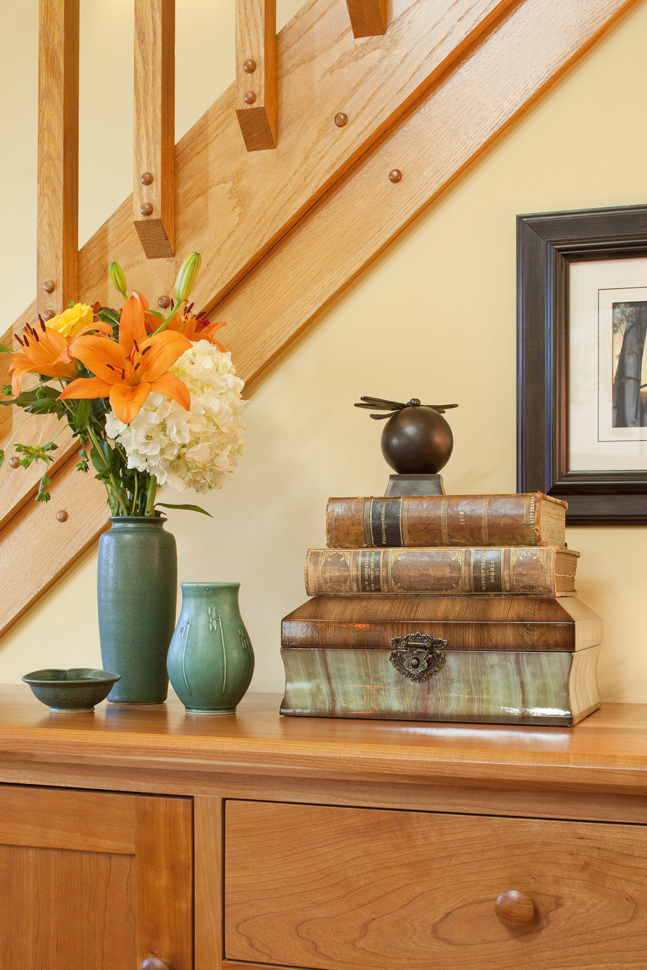 Arts and Crafts Home - Boston Design and Interiors, Inc.