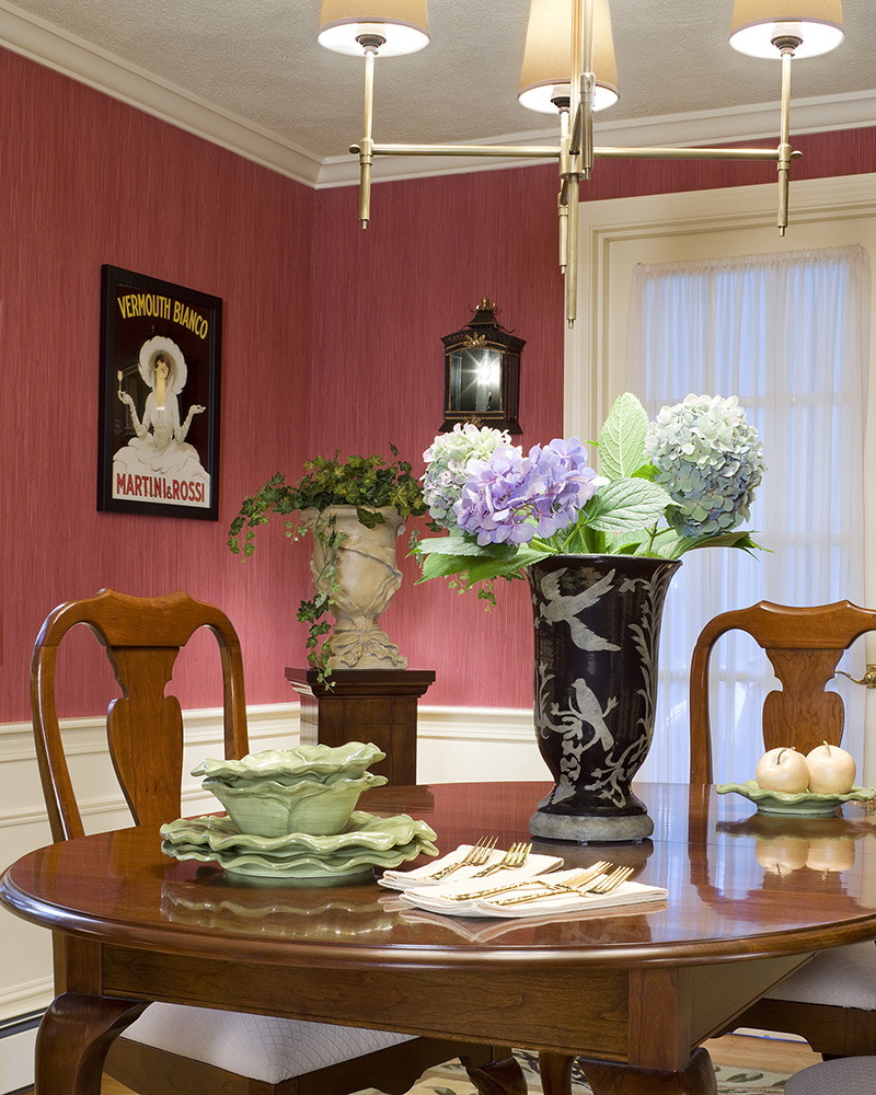 Traditional Interior Design By Ownby: Traditional Home Given A Fresh Look Gallery