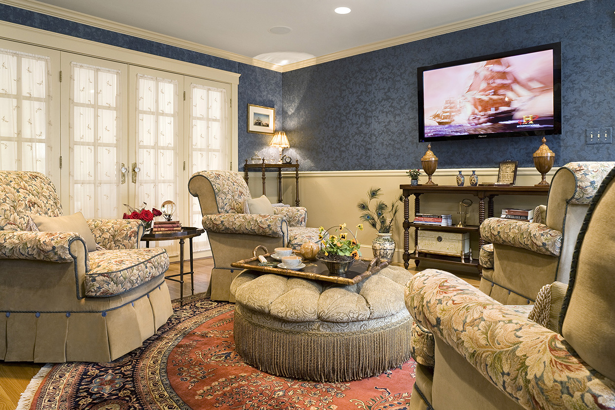 Traditional English Living Room Gallery Boston Design And Interiors Inc