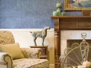 Traditional English Living Room with a Twist 13